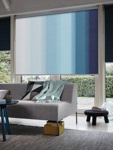 Rolgordijnen blauw Thuisin van Dijk